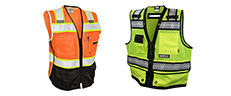 Link to Safety Vests Hi-Vis Apparel - From Full Source