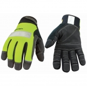 Youngstown Safety Lime Gloves - Lined with Kevlar