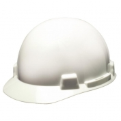 MSA 10074067 SmoothDome Hard Hat - Fas-Trac Suspension - White