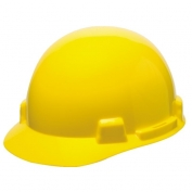 MSA 10074069 SmoothDome Hard Hat - Fas-Trac Suspension - Yellow