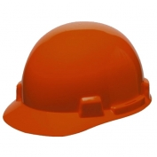 MSA 10074070 SmoothDome Hard Hat - Fas-Trac Suspension - Orange