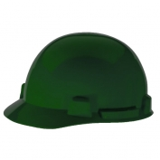 MSA 10074072 SmoothDome Hard Hat - Fas-Trac Suspension - Green