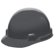 MSA 10074073 SmoothDome Hard Hat - Fas-Trac Suspension - Gray