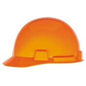 MSA 10074077 SmoothDome Hard Hat - Fas-Trac Suspension - Hi-Viz Orange
