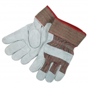 Memphis 1205L Economy Split Shoulder Cowhide Leather Gloves - 2.5