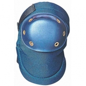 OccuNomix Blue Plastic Cap Knee Pad Hook and Loop Closure