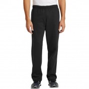 Gildan 18400 Heavy Blend Open Bottom Sweatpants - Black