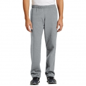 Gildan 18400 Heavy Blend Open Bottom Sweatpants - Sport Grey
