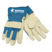 Memphis 1925 Snort-N-Boar Premium Grain Pigskin Leather Palm Gloves - 2.5