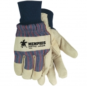 Memphis 1966L Artic Jack Premium Grain Pigskin Leather Palm Gloves - Thermosock Lined - Knit Wrist