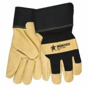Memphis 1970 Premium Grain Pigskin Leather Palm Gloves - Thermal Lined - 2.5