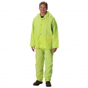 PIP 201-355 Falcon Premium 3-Piece Rainsuit - Yellow/Lime