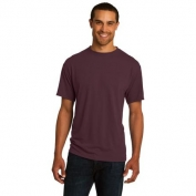 Jerzees 21M Sport 100% Polyester T-Shirt - Maroon