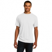 Jerzees 21M Sport 100% Polyester T-Shirt - White