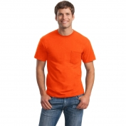 Gildan 2300 Ultra Cotton T-Shirt with Pocket - S. Orange