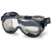 Crews Verdict Safety Goggles - Smoke Frame - Clear Lens
