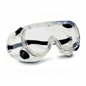 Bouton Basic Indirect Vent Goggles - Clear Frame - Clear Lens