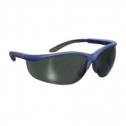Bouton Hi-Voltage AC Safety Glasses - Blue Frame - Gray Lens