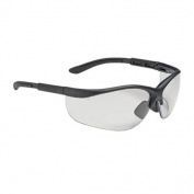 Bouton Hi-Voltage AC Safety Glasses - Black Frame - Clear Lens