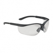 Bouton Hi-Voltage AC Safety Glasses - Black Frame - Clear Anti-fog Lens