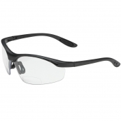 Bouton 250-25-00 MAG Readers Safety Glasses - Black Frame - Clear Bifocal Lens