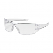 Bouton Captain Safety Glasses - Clear Temples - Clear Anti-Reflective Lens