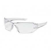 Bouton Captain Safety Glasses - Clear Temples - Clear Anti-Fog Lens