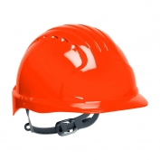 JSP Evolution 6131 Deluxe Hard Hat - Slip Ratchet Suspension - Hi-Viz Orange