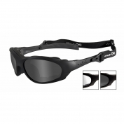 Wiley X XL-1 Advanced Safety Glasses - Matte Black Frame - Grey & Clear Lenses