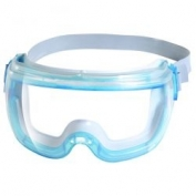 Revolution Goggles with Clear VisiClear Anti-Fog Lens and Blue Frame