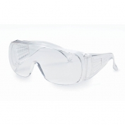V10 Unispec II Clear Uncoated Safety Glasses