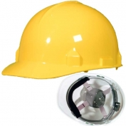 Jackson 14833 SC-6 Hard Hat - Ratchet Suspension - Yellow