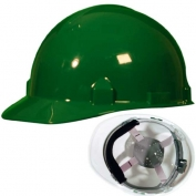 Jackson 14837 SC-6 Hard Hat - Ratchet Suspension - Green