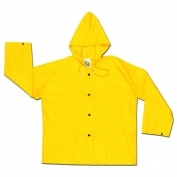 River City 300JHM Wizard Series Limited Flammability Jacket - .28mm PVC/Nylon/PVC - Yellow