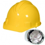 Jackson 20401 Charger Hard Hat - Ratchet Suspension - Yellow
