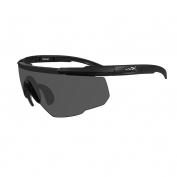 Wiley X Saber Advanced Sunglasses - Matte Black Frame - Grey Lens