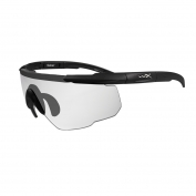 Wiley X Saber Advanced Safety Glasses - Matte Black Frame - Clear Lens