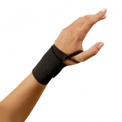 OccuNomix Black Wrist Assist with Thumb Loop