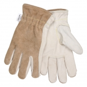Memphis 3204K Premium Grain Cowhide Leather Driver Gloves - 7 Gauge Kevlar Lined