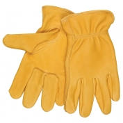 Memphis 3501 Big Buck Regular Grade Grain Deerskin Leather Driver Gloves - Keystone Thumb