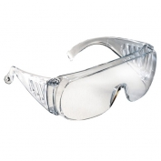 Radians Chief OTG Safety Glasses - Clear Frame - Clear Lens