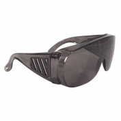 Radians Chief OTG Safety Glasses - Smoke Frame - Smoke Lens