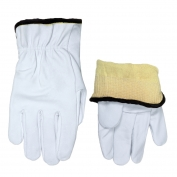 Memphis 3601K Premium Grain Goatskin Leather Driver Gloves - Kevlar Lined - Straight Thumb