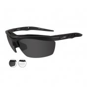 Wiley X Guard Sunglasses - Matte Black Frame - Grey & Clear Lenses