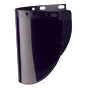 Fibre-Metal High Performance Wide View Faceshield Window- IR/UV- Shade 5