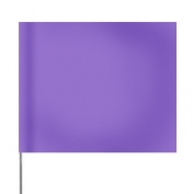Presco Plain 4 inch x 5 inch with 21 inch Staff - 100/Bundle - Purple