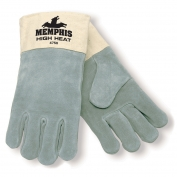 Memphis 4750 High Heat Split Leather Welders Gloves - 3.5