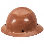 MSA 475407 Skullgard Full Brim Hard Hat - Fas-Trac Suspension - Tan