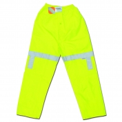 River City 500RPW Luminator Class E Elastic Waist Pants - .16mm Polyester/PU - Yellow