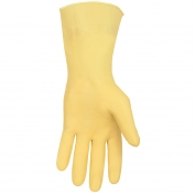 Memphis 5110 Unsupported Premium Latex Canners Gloves - 18 mil - Rolled Cuff
